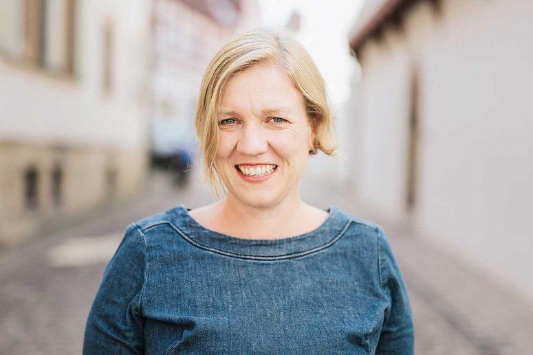 """Nadine Luck, Autorin von """"111 Orte für Kinder in und um Bamberg"""""""